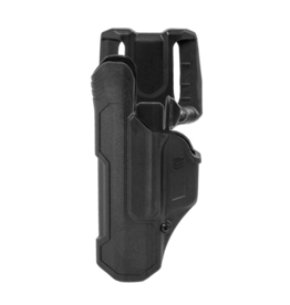 Blackhawk BLACKHAWK T-SERIES L2D HOLSTER, SIG SAUER P320 / M18 / M17, LEFT HAND, BLACK, LEVEL 2 RETENTION