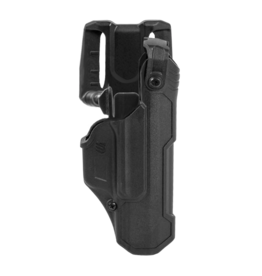 Blackhawk BLACKHAWK T-SERIES L3D HOLSTER, GLOCK 17 / 19 / 22 / 23 / 45, RIGHT HAND, BLACK, LEVEL 3 RETENTION