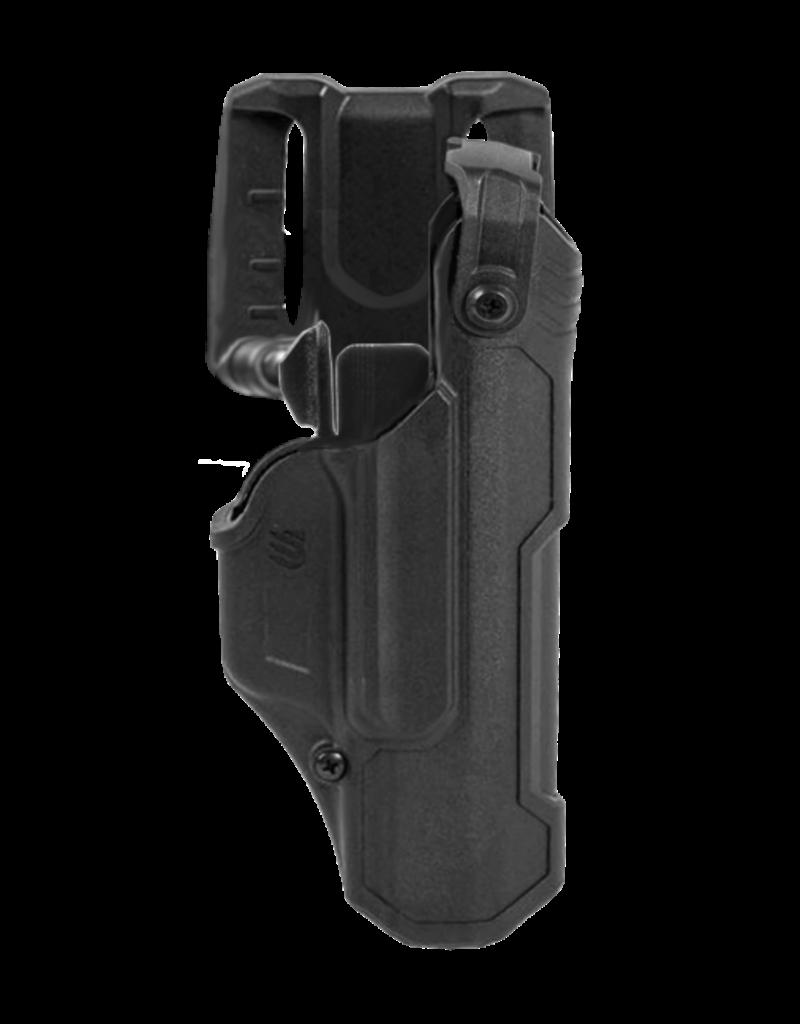 Blackhawk BLACKHAWK T-SERIES L3D HOLSTER, SIG SAUER P320 / M18 / M17, RIGHT HAND, BLACK, LEVEL 3 RETENTION