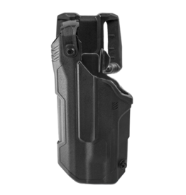 Blackhawk BLACKHAWK T-SERIES L3D HOLSTER, GLOCK 17 / 19 / 22 / 23 / 45, TLR-1 / TLR-2, LEFT HAND, BLACK, LEVEL 3 RETENTION