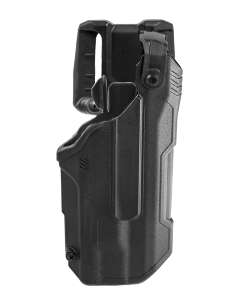 Blackhawk BLACKHAWK T-SERIES L3D HOLSTER, GLOCK 17 / 19 / 22 / 23 / 45, TLR-1 / TLR-2, RIGHT HAND, BLACK, LEVEL 3 RETENTION
