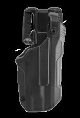 Blackhawk BLACKHAWK T-SERIES L3D HOLSTER, GLOCK 21 / S&W M&P NO SAFETY, TLR-1 / TLR-2, RIGHT HAND, BLACK, LEVEL 3 RETENTION