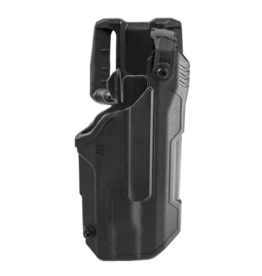 Blackhawk BLACKHAWK T-SERIES L3D HOLSTER, GLOCK 21 / S&W M&P NO SAFETY, TLR-1 / TLR-2, RIGHT HAND, BLACK, LEVEL 3 RETENTION