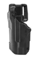 Blackhawk BLACKHAWK T-SERIES L3D HOLSTER, GLOCK 21 / S&W M&P NO SAFETY, TLR-1 / TLR-2, LEFT HAND, BLACK, LEVEL 3 RETENTION
