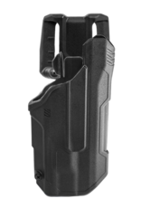 Blackhawk BLACKHAWK T-SERIES L2D HOLSTER, GLOCK 17 / 19 / 22 / 23 / 45, TLR-1 / TLR-2, RIGHT HAND, BLACK, LEVEL 2 RETENTION