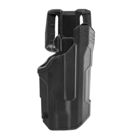 Blackhawk BLACKHAWK T-SERIES L2D HOLSTER, GLOCK 21 / S&W M&P NO SAFETY, TLR-1 / TLR-2, RIGHT HAND, BLACK, LEVEL 2 RETENTION