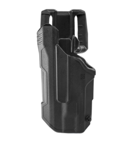 Blackhawk BLACKHAWK T-SERIES L2D HOLSTER, SIG SAUER P320 / M18 / M17, TLR-1 / TLR-2, LEFT HAND, BLACK, LEVEL 2 RETENTION