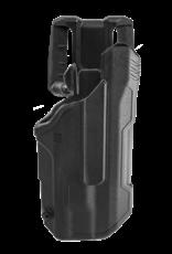 Blackhawk BLACKHAWK T-SERIES L2D HOLSTER, GLOCK 17 / 22, TLR-7, RIGHT HAND, BLACK, LEVEL 2 RETENTION