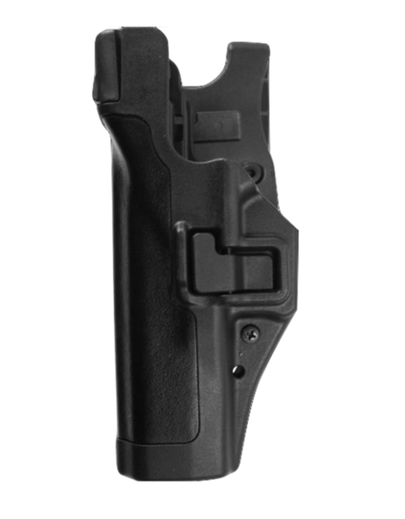 Blackhawk BLACKHAWK LEVEL 3 DUTY SERPA HOLSTER, GLOCK 17/19, SIZE 00, MATTE, LH