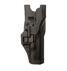 Blackhawk BLACKHAWK SERPA L3 DUTY HOLSTER, 44H106BK-R-B, SIG 220/225/226/228/229 WITH OR WITHOUT RAIL, MATTE BLACK, RIGHT HAND