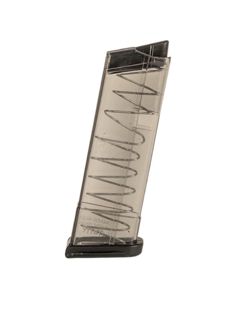Elite Tactical Systems ETS GLOCK 43 MAGAZINE, 9MM, 9RD, SMOKE