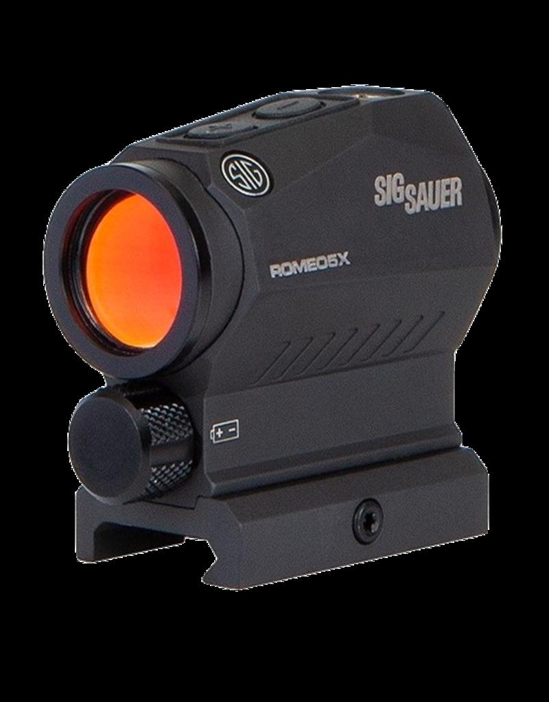 Sig Sauer SIG SAUER OPTIC, ROMEO 5 X, COMPACT RED DOT SIGHT, 1X20MM, #SOR52101, 2 MOA RED DOT, 65 MOA CIRCLE DOT
