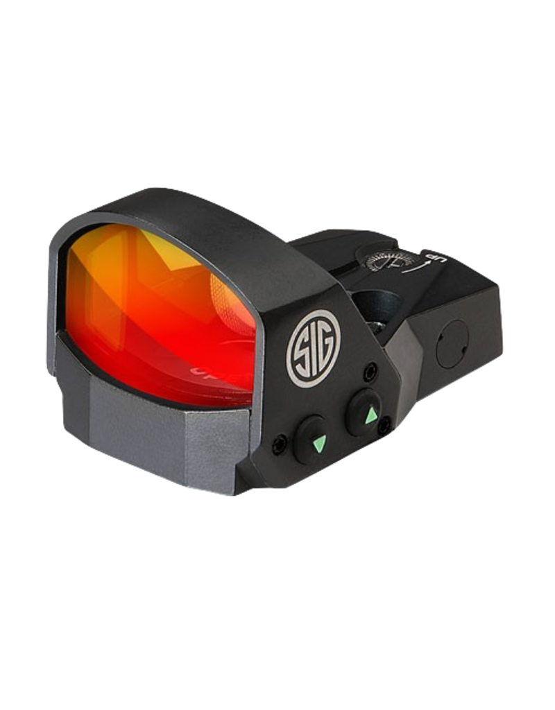 Sig Sauer SIG SAUER OPTIC, ROMEO 1 MINI REFLEX SIGHT, 1X30MM, #SOR11600, 6 MOA RED DOT, PISTOL ADAPTOR PACK, BLACK