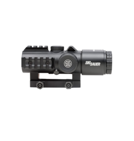 Sig Sauer SIG SAUER BRAVO 3 BATTLE SIGHT, #SOB33101, 3X24MM, 556-762 HORSESHOE DOT ILLUM RETICLE, 0.5 MOA, M1913, BLACK