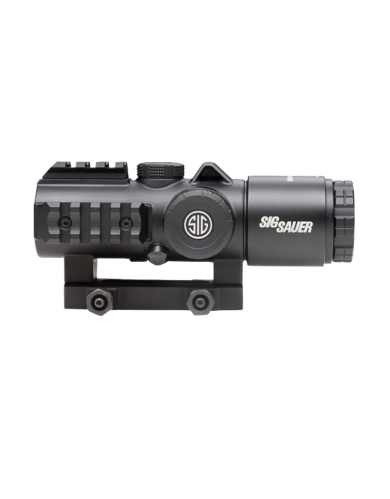 Sig Sauer SIG SAUER BRAVO 5 BATTLE SIGHT, #SOB53102, 5X30MM, 300 BLK HORSESHOE DOT ILLUM RETICLE, 0.5 MOA, M1913, BLACK