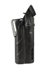 Safariland SAFARILAND 7360 7TS, ALS LEVEL III MID-RIDE, #7360-832-411, FOR GLOCK 17/22 WITH TLR-1, PLAIN BLACK, RH