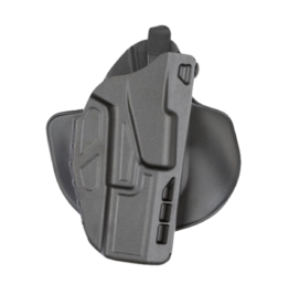 Safariland SAFARILAND 7378 7TS ALS PADDLE & BELT SLIDE HOLSTER, #7378-28325-411, GLOCK 19/23, W/ ITI M3 LIGHT, PLAIN BLACK , RH