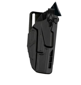 Safariland SAFARILAND 7365 7TS LOW RIDE, LEVEL III ALS/SLS TACTICAL HOLSTER, #7365-2835-411, GLOCK 19/23,  SAFARISEVEN PLAIN BLACK , RH