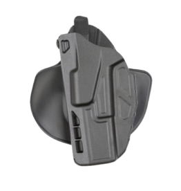 Safariland SAFARILAND 7378 ALS PADDLE & BELT COMBO HOLSTER, #7378-7502-412, SIG 320C W/ TLR1 LIGHT, PLAIN BLACK, LH