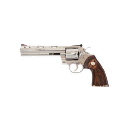 Colt COLT PYTHON, #PYTHONSP6WTS, .357 MAGNUM, 6IN BARREL, STAINLESS, WOOD GRIPS