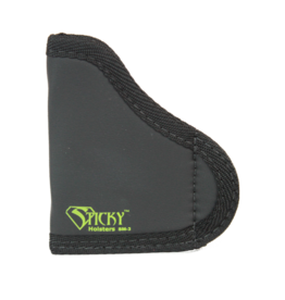 "Sticky Holsters STICKY HOLSTER SM-3, POCKET .380'S W/LASER,  WIDER AUTOS, UP TO 3"" BARREL"