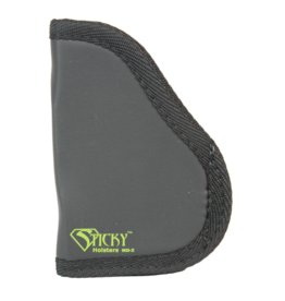 "Sticky Holsters STICKY HOLSTER MD-2, SMALL 9MM'S W/LASER,  WIDER AUTO'S UP TO 3.3"" BARREL"