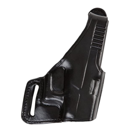 Bianchi BIANCHI 75 HOLSTER, S&W SHIELD, BLACK, LEATHER