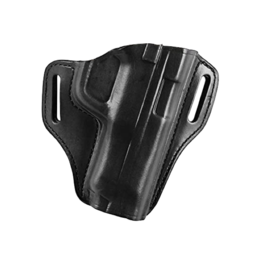 Bianchi BIANCHI 57 HOLSTER, GLOCK 43, BLACK, LEATHER