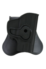 Bulldog BULLDOG POLYMER HOLSTER, RUGER LC9, PADDLE AND BELT LOOP, RIGHT HAND