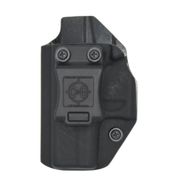 C&G Holsters C&G HOLSTER, GLOCK 43/43X, IWB COVERT, KYDEX, BLACK, LEFT HAND