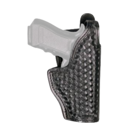 Dutyman DUTYMAN MID RIDE HOLSTER, GL17/19, BASKETWEAVE, BLACK, RIGHT HAND