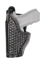 Dutyman DUTYMAN MID RIDE HOLSTER, GL17/19, BASKETWEAVE, BLACK, LEFT HAND
