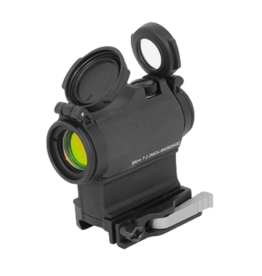 Aimpoint AIMPOINT MICRO T-2, #200198, 2 MOA, RED DOT, FLIP UP LENS COVER BLK