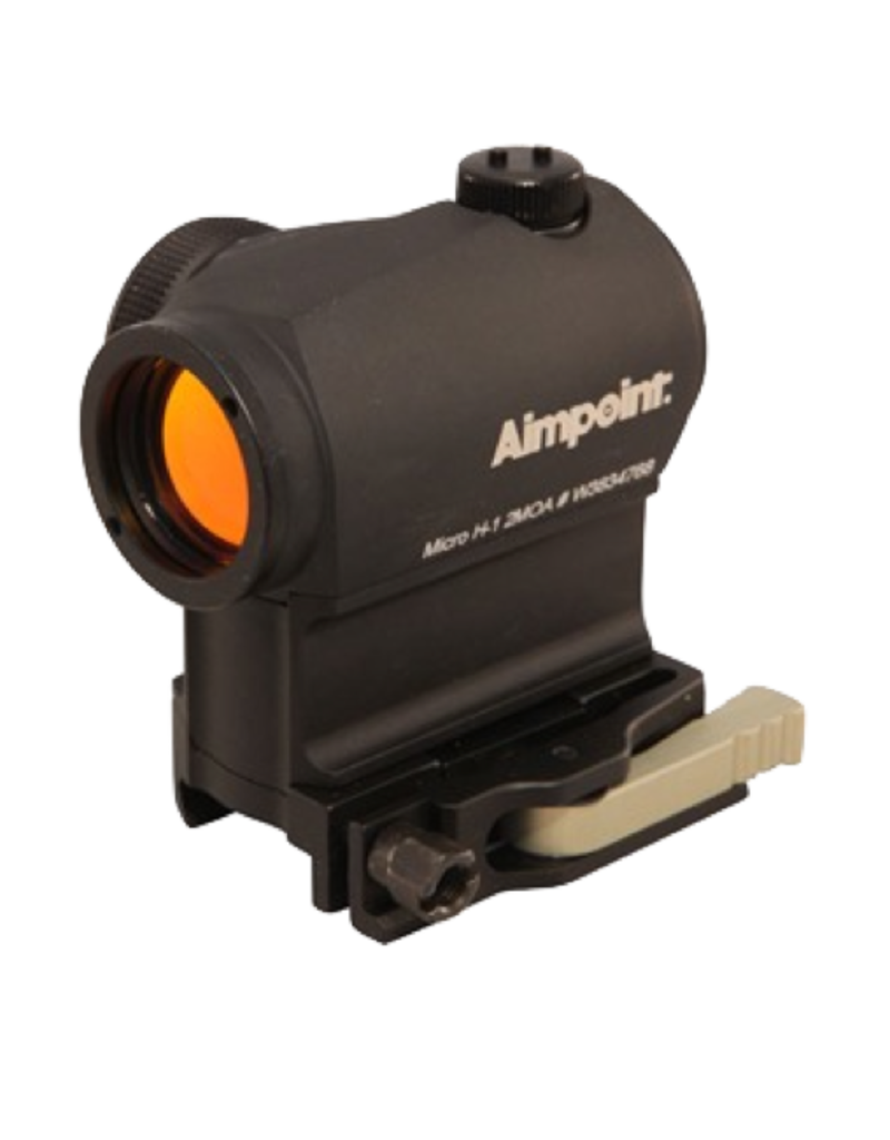 Aimpoint AIMPOINT MICRO H-1, #200158, 2 MOA, DAYLIGHT, AR15 RDY, LRP MOUNT/39MM SPACER