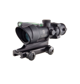 Trijicon TRIJICON ACOG, 4 X 32, DUAL ILLUM., GREEN HORSESHOE/DOT, TA51 MOUNT