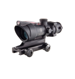 Trijicon TRIJICON ACOG, 4 X 32, DUAL ILLUM., RED CHEVRON, MOUNT