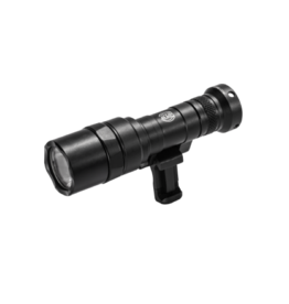 Surefire SUREFIRE SCOUT LIGHT, #340C-BK-PRO, SWIVEL, 3V, 500 LUMENS, 1913 PICATINNY MOUNT INSTALLED, MLOK MOUNT INCLUDED, BLACK, Z68 CLICK ON/OFF TAILCAP