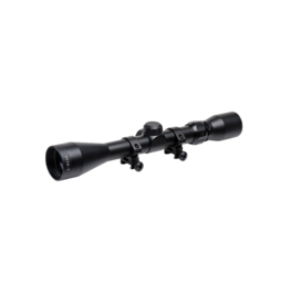 TruGlo TRUGLO TRUSHOT SCOPE, 3-9X40, BLACK, INCLUDES WEAVER RINGS