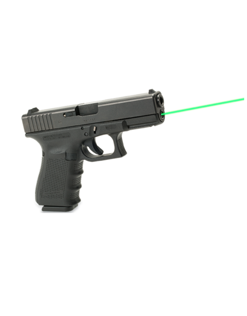 Lasermax LASERMAX GUIDE ROD LASER, GL19 GEN 4, GREEN