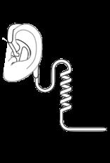 Ear Hugger EARHUGGER, OPEN EAR INSERT, LEFT, 2 PK, MEDIUM
