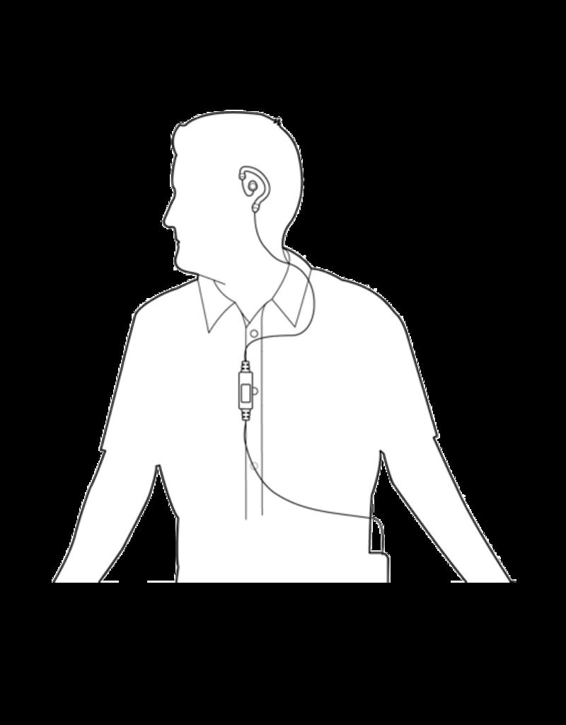 Ear Hugger EARHUGGER, EAR-BONE MICROPHONE HEADSET, MOTOROLA XPR / APX / MOTOTRBO SERIES