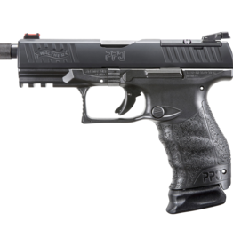 """Walther WALTHER PPQ M2 Q4 TACTICAL, #2825929LE, 9MM, 4"""", BLACK, WITH THREADED BARREL"""