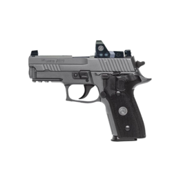 Sig Sauer SIG SAUER P229 LEGION, #E29R-9-LEGION-RXP, 9MM, GRAY, XRAY NIGHT SIGHTS, G10 GRIPS, RAIL, DA/SA, ROMEO1PRO