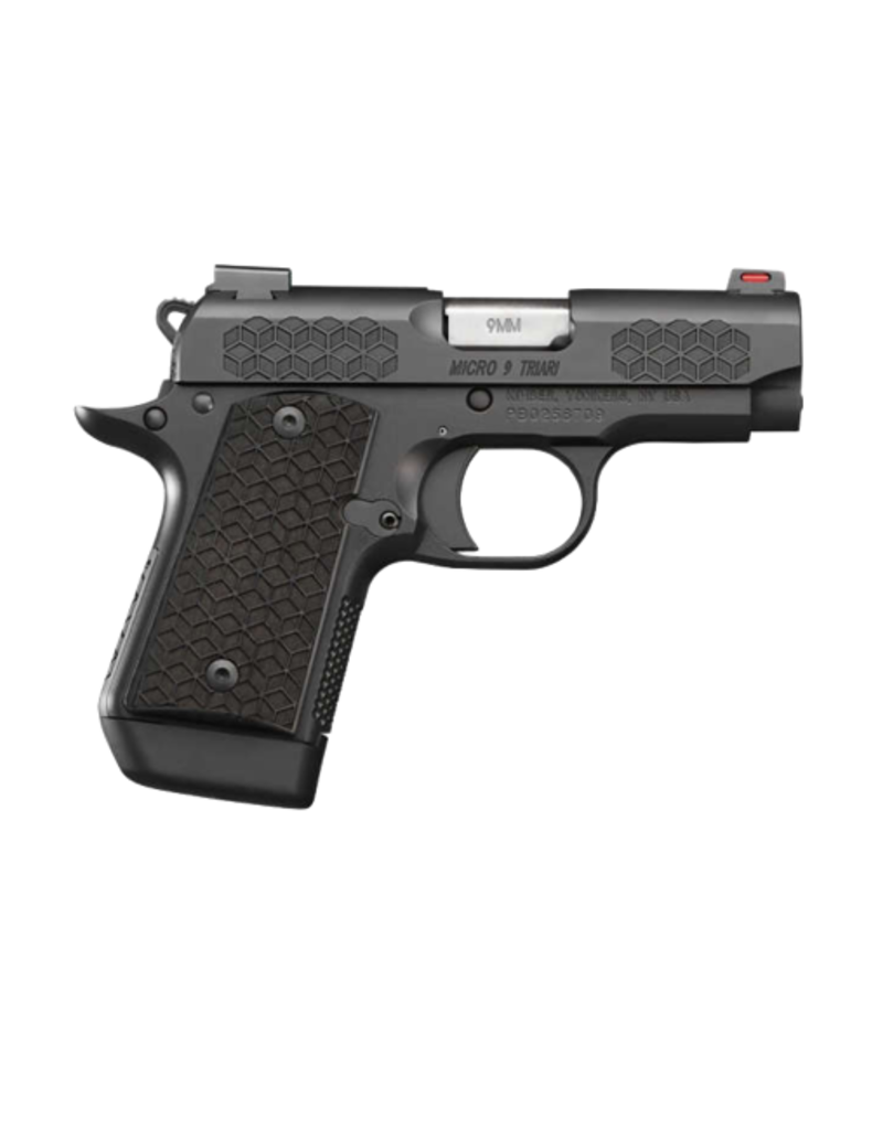 Kimber KIMBER MICRO 9, #33212, TRIARI, 9MM, 3 INCH BARREL, BLACK