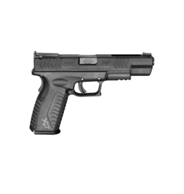 "Springfield Armory SPRINGFIELD XDM #XDM952545BHCE, COMPETITION, 45 ACP, 5.25"", BLUE, ADJ SIGHTS, FIBER OPTIC FRONT SIGHT"
