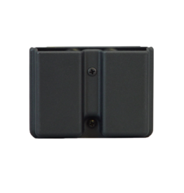 Uncle Mikes UNCLE MIKES KYDEX DOUBLE MAG CASE, #51371, SINGLE STACK, 1911 STYLE, BLACK