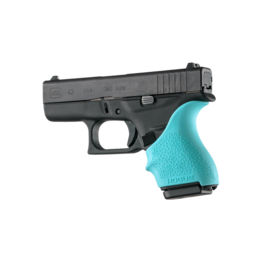 Hogue HOGUE GRIP HANDALL, GLOCK 42/43, SMALL GRIP SLEEVE, AQUA