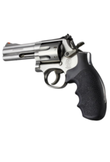 Hogue HOGUE GRIP, S&W K AND L, ROUND BUTT