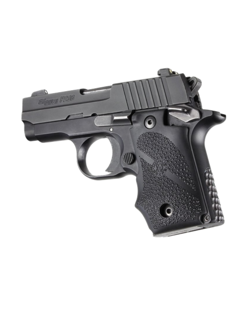 Hogue HOGUE GRIP, SIG SAUER P238, BLACK, RUBBER