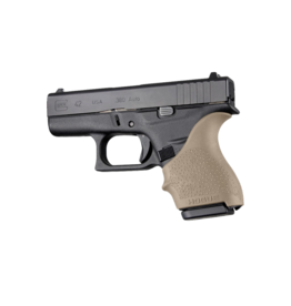 Hogue HOGUE GRIP HANDALL, GLOCK 42/43, FLAT DARK EARTH, SMALL GRIP SLEEVE